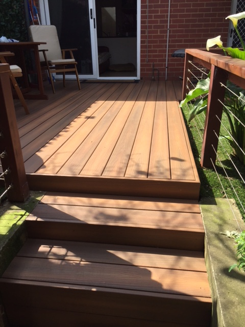 Nexgen decking how to build the perfect deck stairs for Building box steps