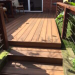 Capped Composite Decking Teak